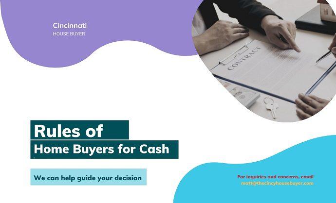 rules of home buyers for cash cincinnati house buyer